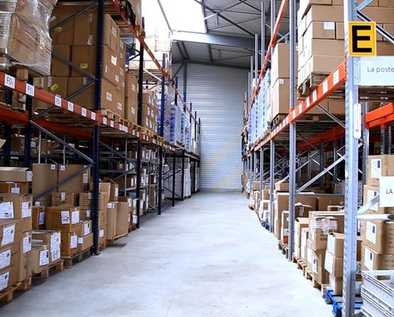 Entrepôt de stockage Groupe BV