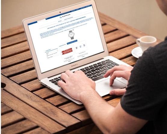 Boutique en ligne d'objets personnalisés